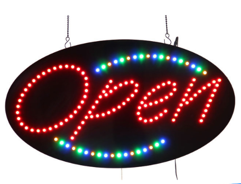 AYD LED Open Signs