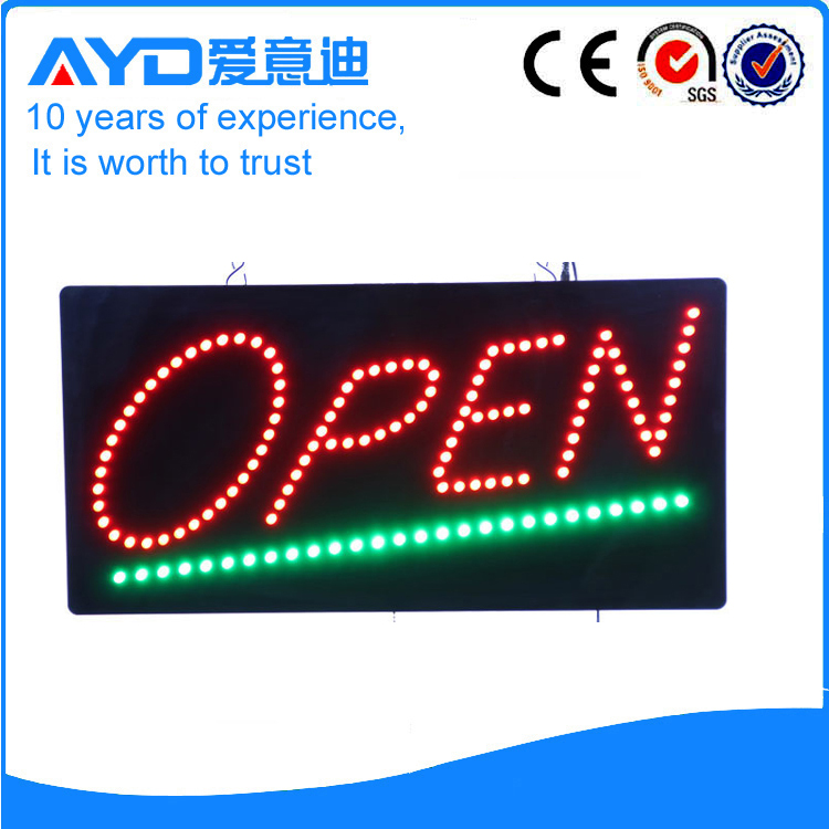 New Design Flashing LED Open Signs