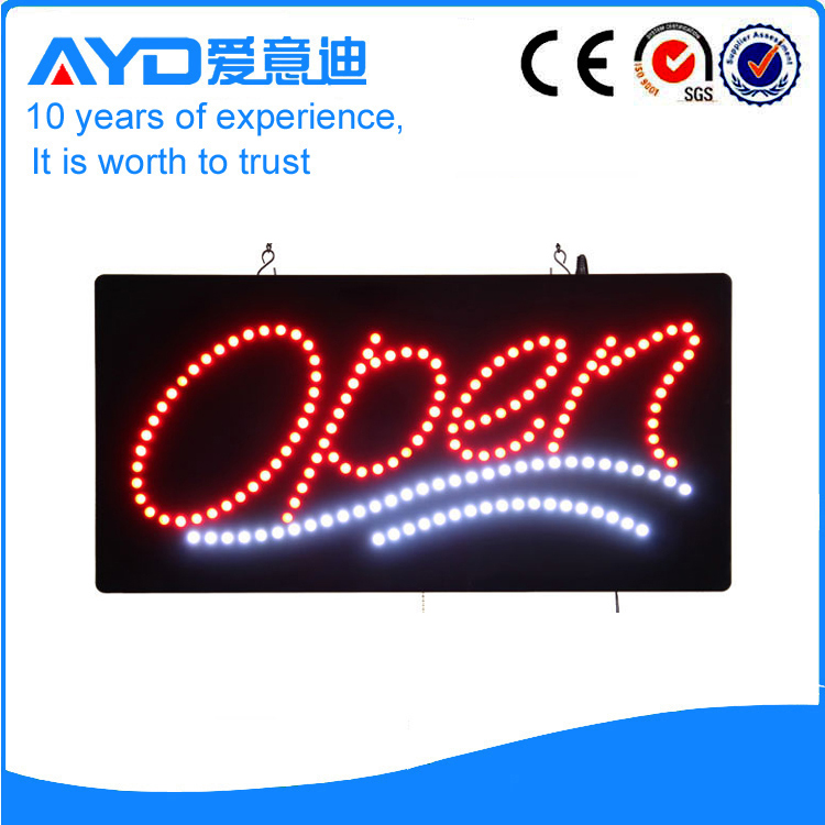 Indoor Good Design LED Open Signs