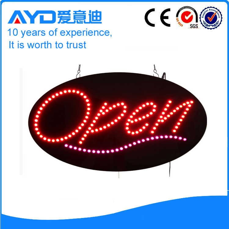 Indoor Good Price Hidly LED Open Signs