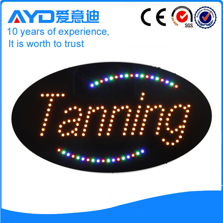 Indoor Super LED Tanning Signs For Sale title=