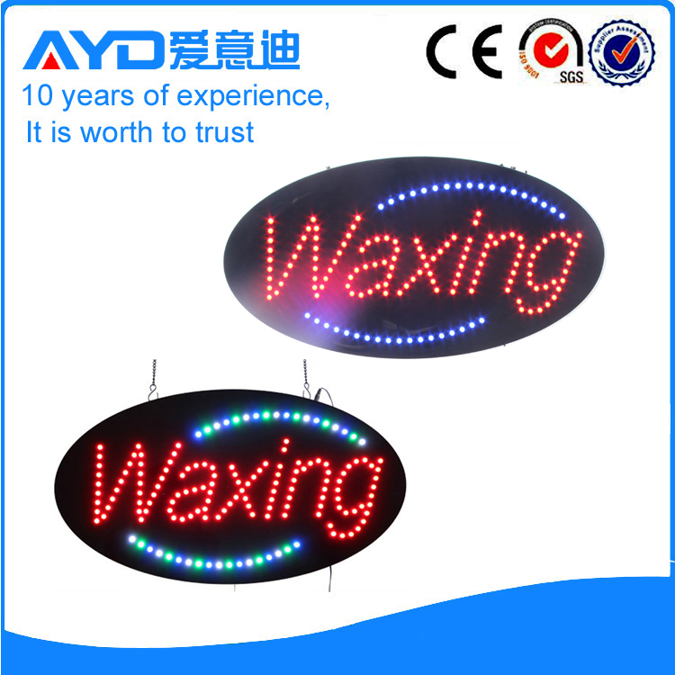 AYD LED Waxing Signs HSW0001 title=
