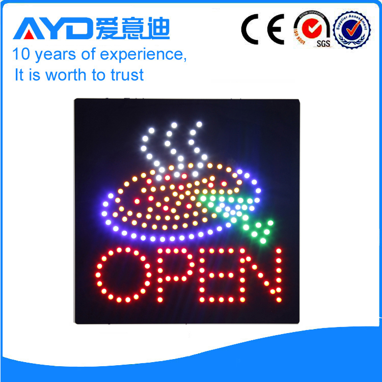 AYD Cake LED Open Sign title=