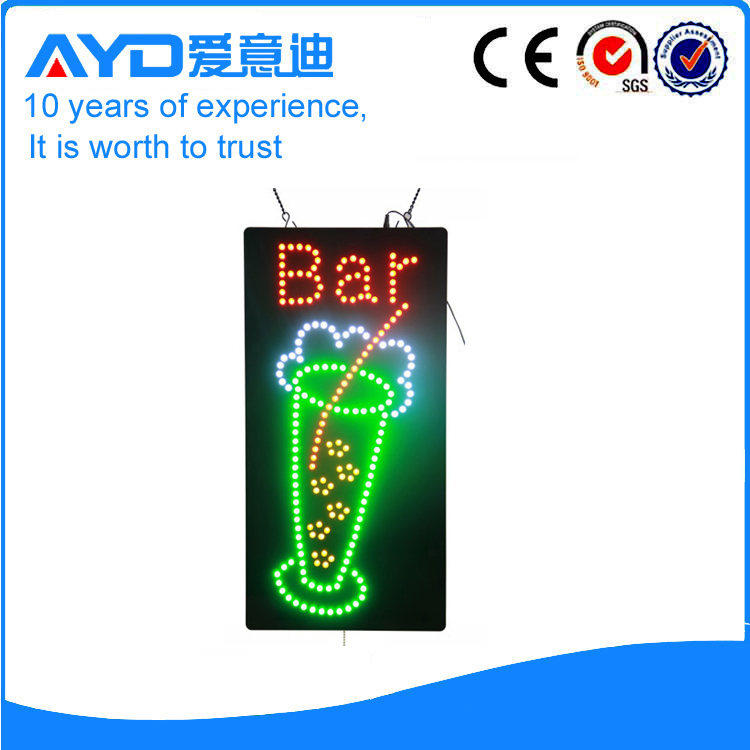 AYD Good Price LED Bar Sign