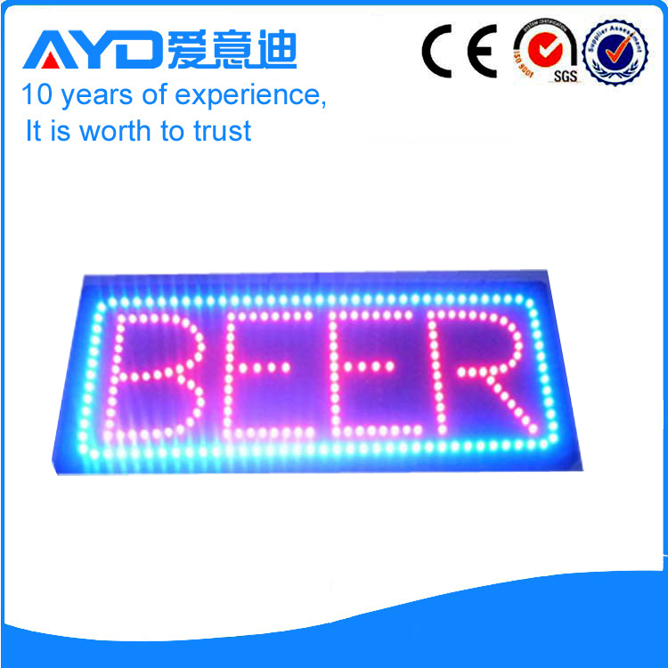 AYD Good Price LED Beer Sign