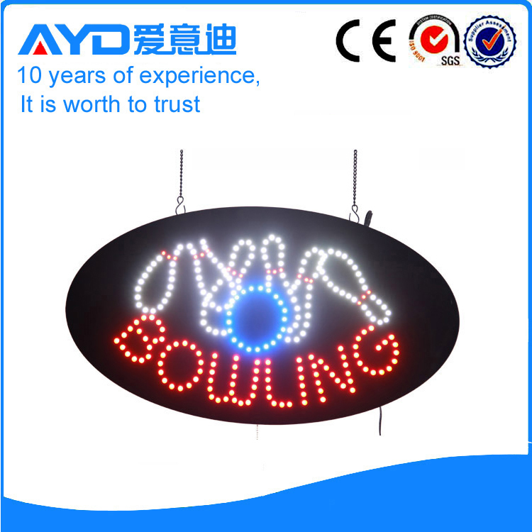 AYD Good Price LED Bowling Sign