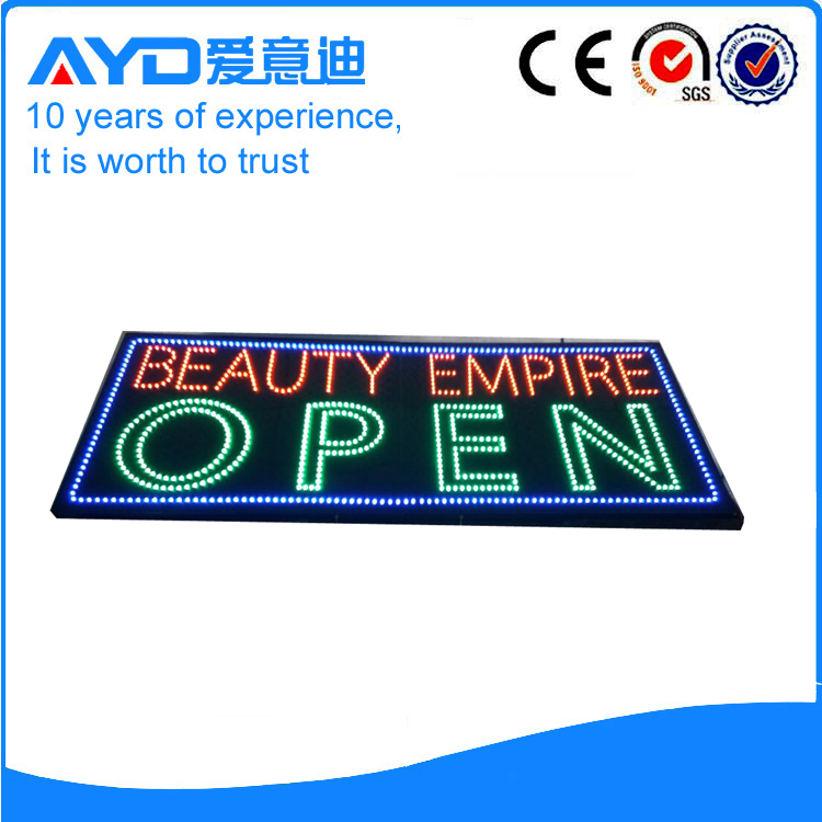 Indoor LED Beauty Empire Open Sign