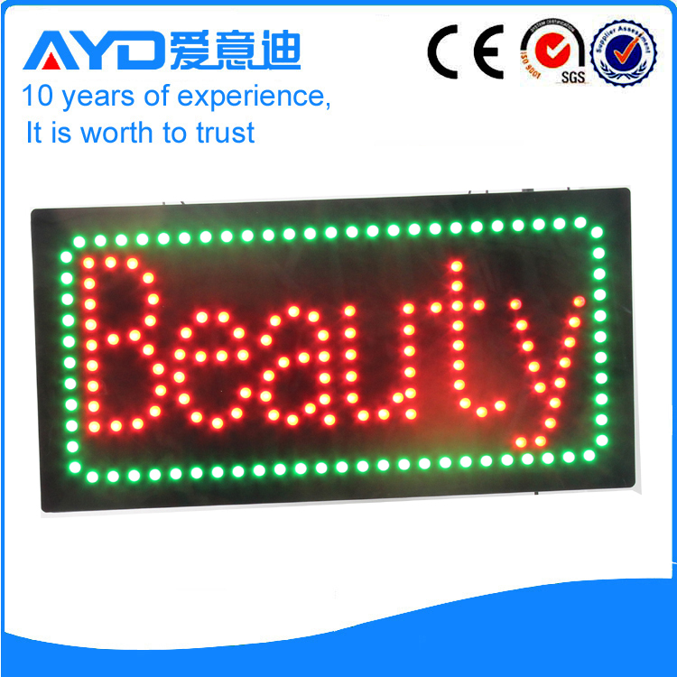 Indoor Good Price LED Beauty Sign