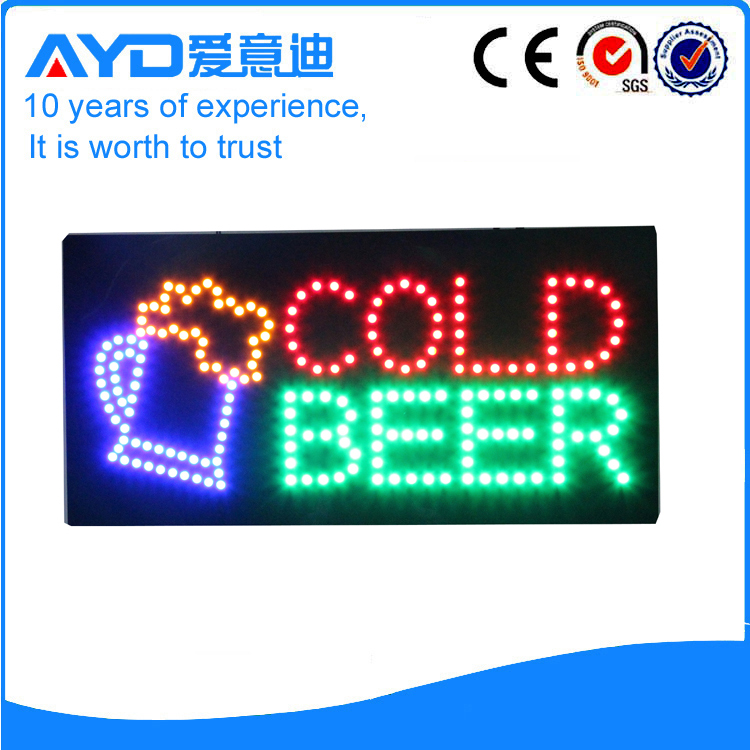 AYD Good Design LED Cold Beer Sign