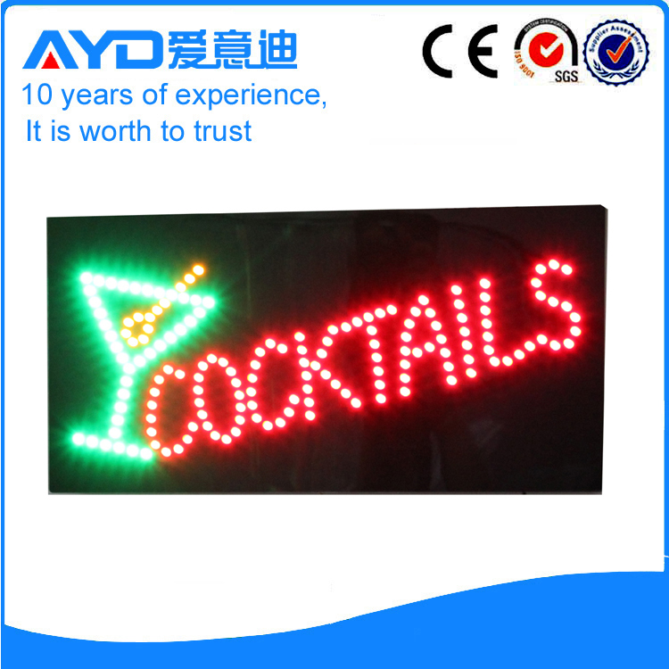 AYD Good Design LED Cocktails Sign