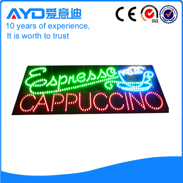 AYD Good Design LED Cappuccino Sign