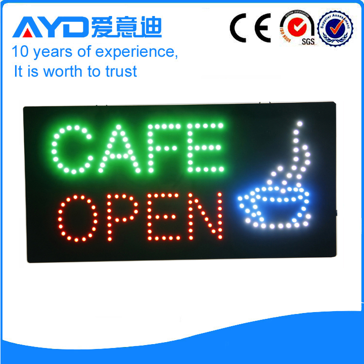 AYD Good Design LED Cafe Open Sign