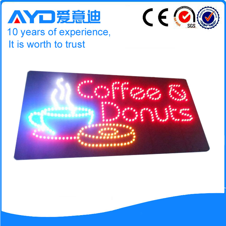 AYD LED Coffee&Donuts Sign