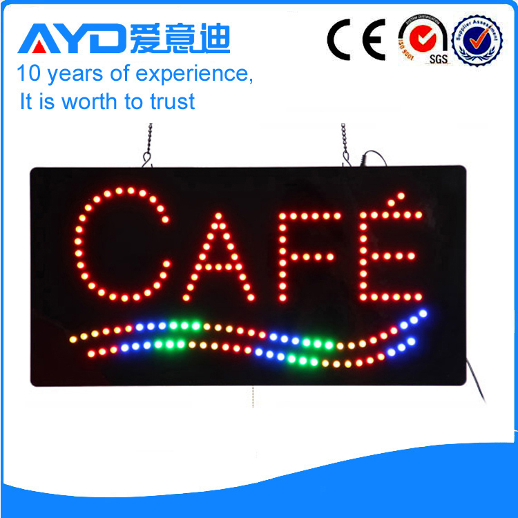 AYD Unique Design LED Cafe Sign