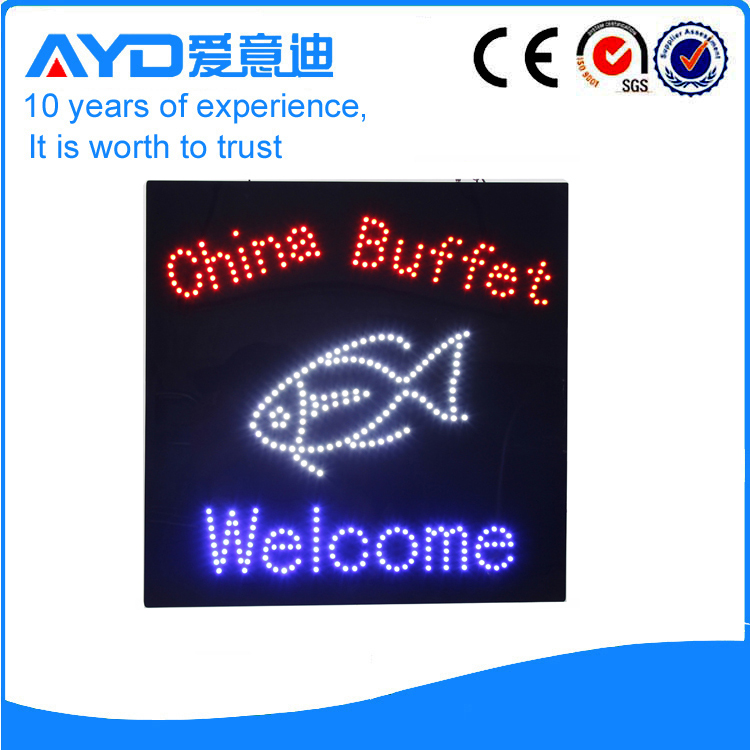 AYD Good Price LED China Buffet Sign