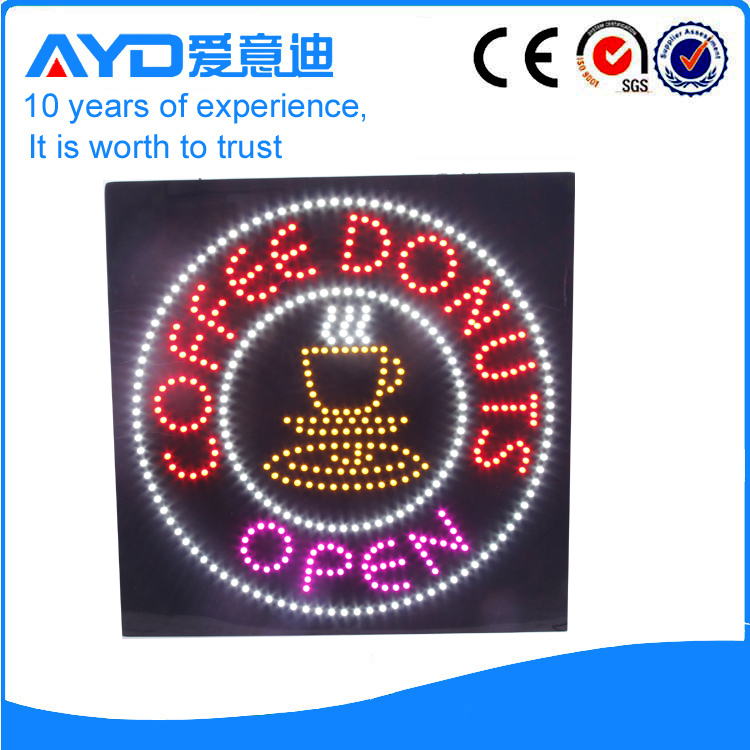 AYD LED Coffee Donuts Sign