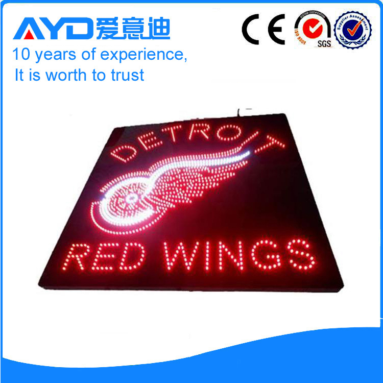 AYD LED Detroit Red Wings Sign