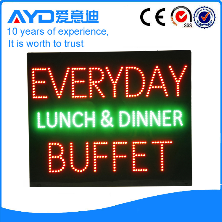 AYD LED Everyday Buffet Sign
