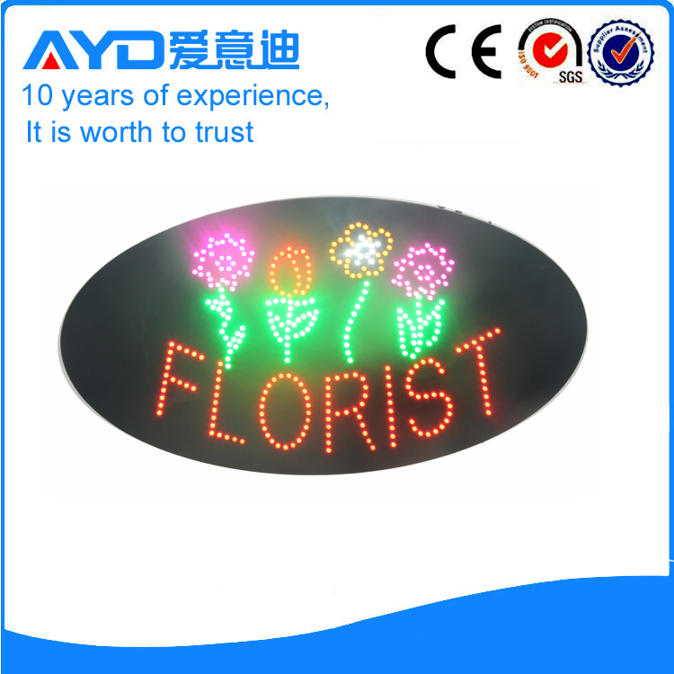 AYD Good Price LED Florist Sign