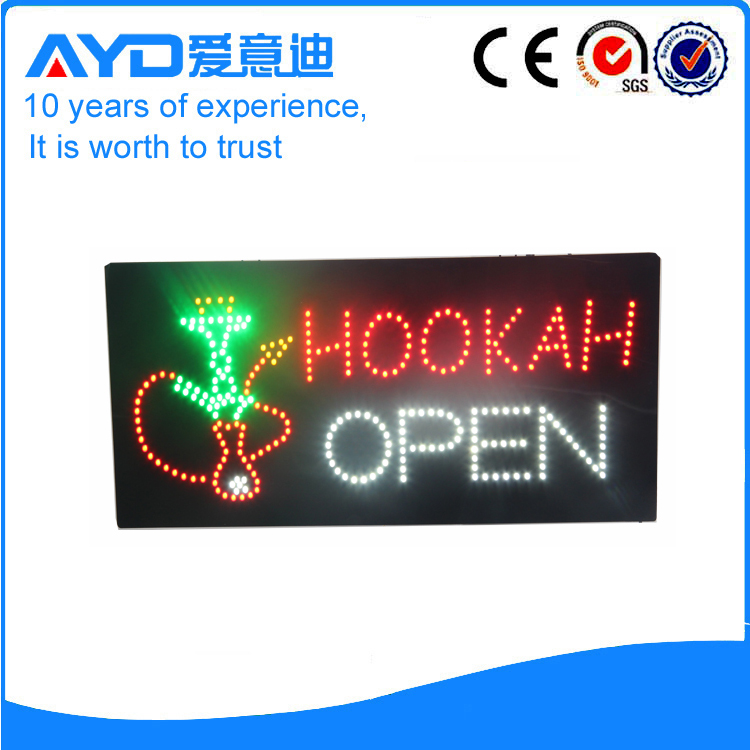 AYD LED Hookah Open Sign