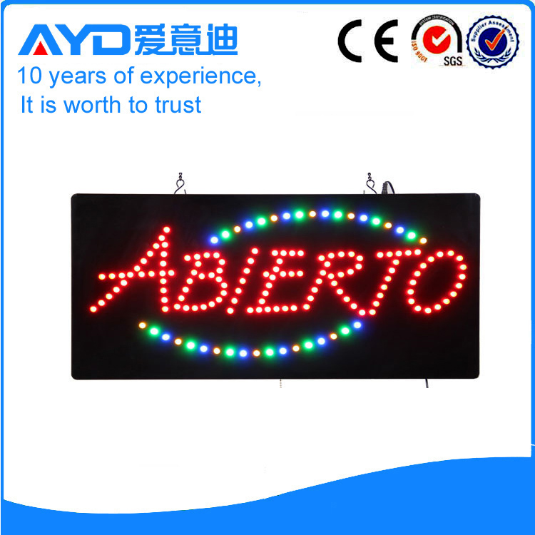 AYD Good Design LED Abierto Sign