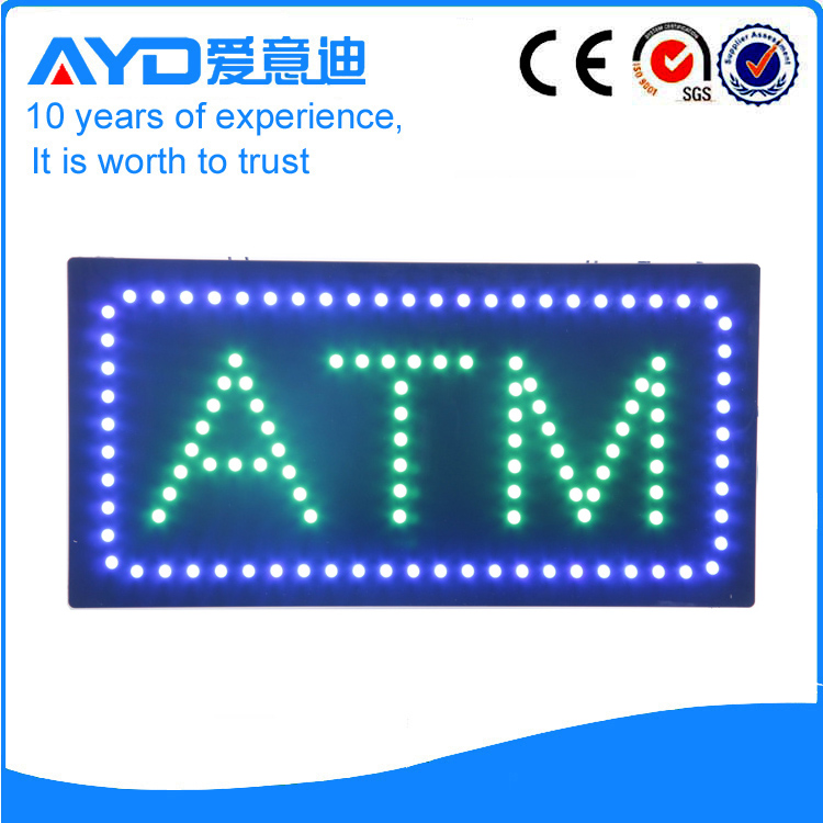 AYD Good Price LED ATM Sign