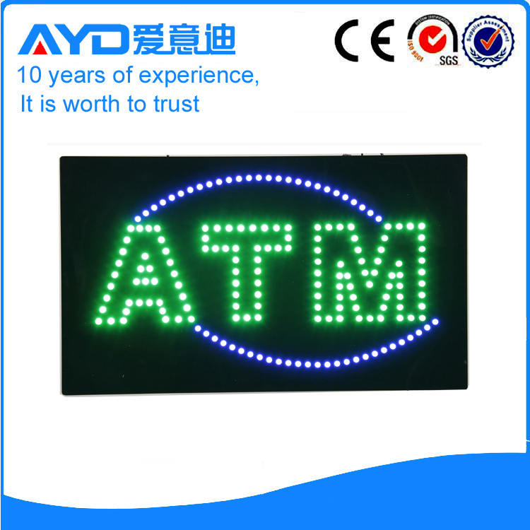 AYD Unique Design LED ATM Sign