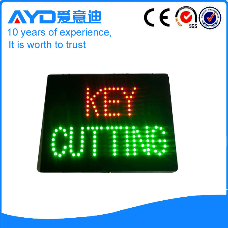 AYD Good Price LED Key Cutting Sign