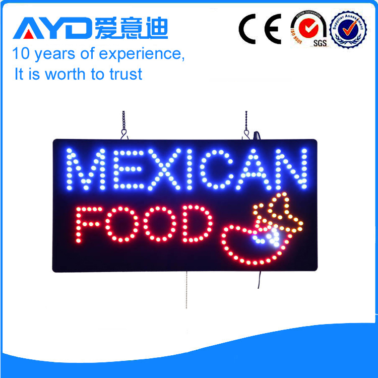 AYD Good Design LED Mexican Food Sign