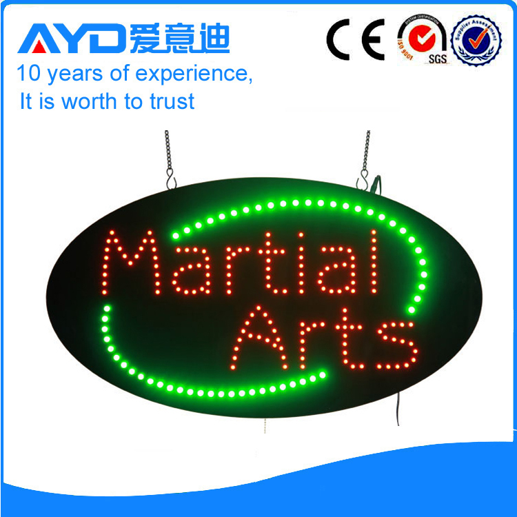 AYD Good Design LED Martial Arts Sign