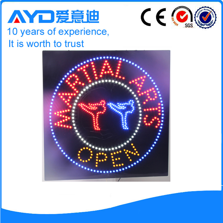 AYD LED Martial Arts Open Sign