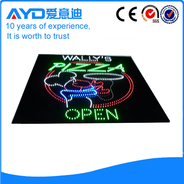 AYD LED Pizza Open Sign