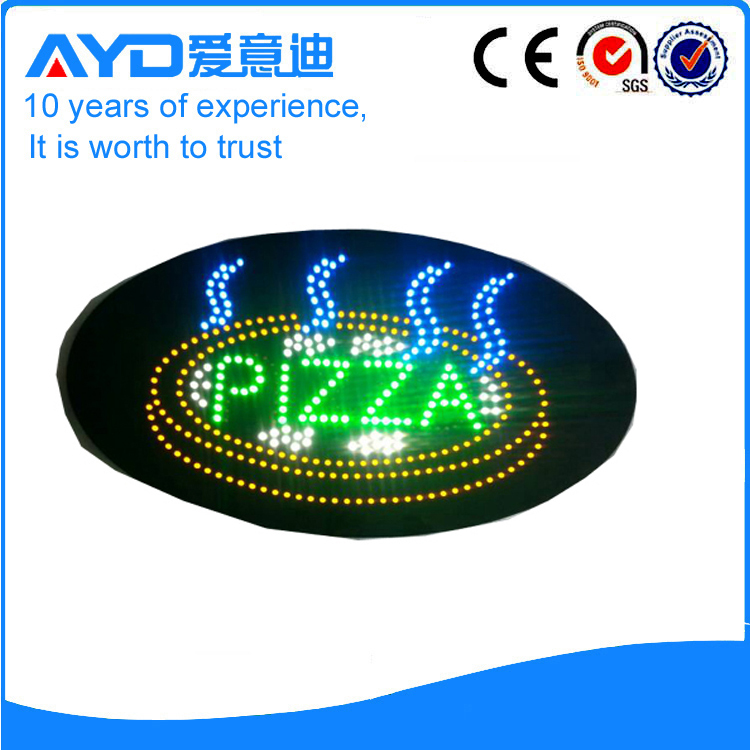 AYD Unique Design LED Pizza Sign