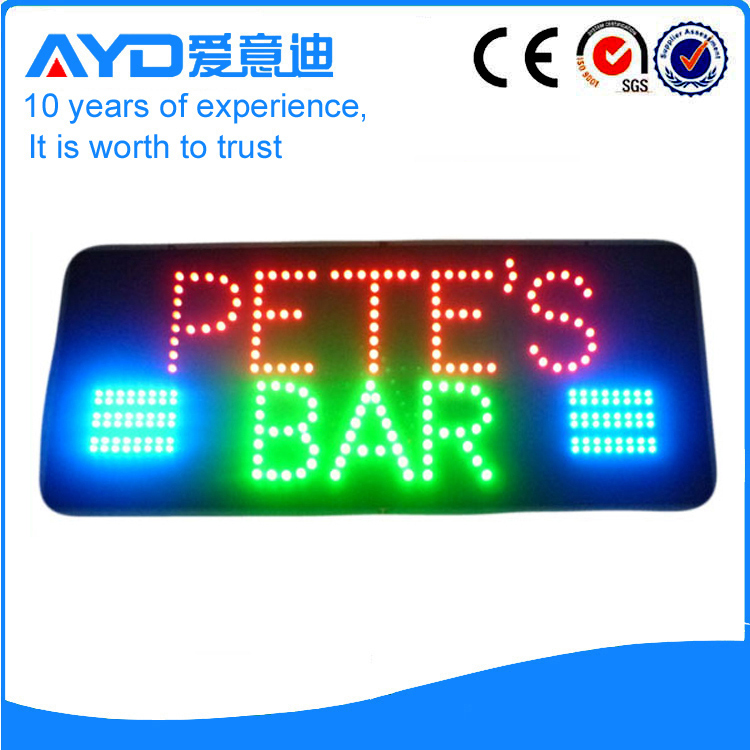 AYD LED Petes Bar Sign
