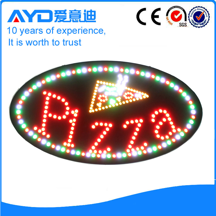 ayd pizza led signs offer an effective and inexpensive way. Black Bedroom Furniture Sets. Home Design Ideas