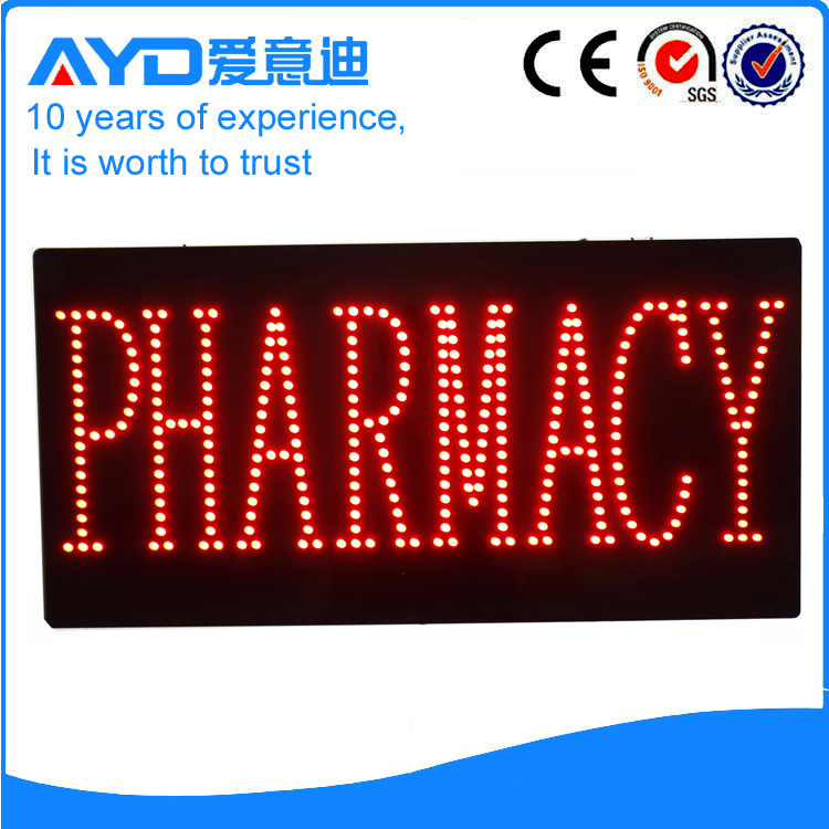 AYD LED Pharmacy Sign