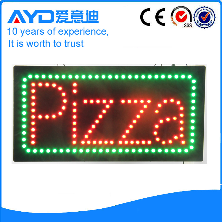AYD Good Design LED Pizza Sign