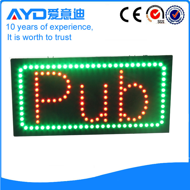 AYD Good Design LED Pub Sign