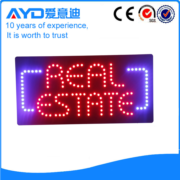 AYD LED Real Estate Sign