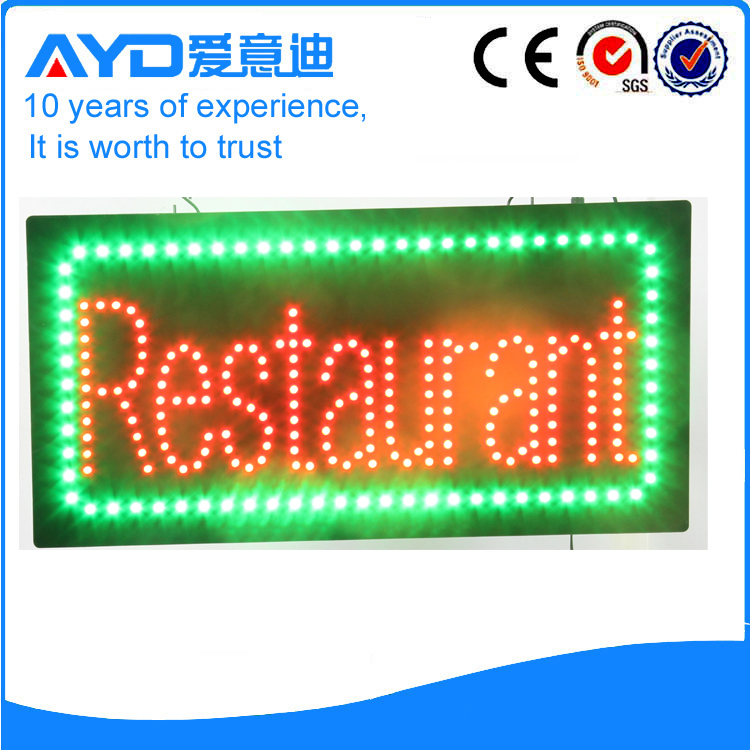 AYD LED Restaurant Sign