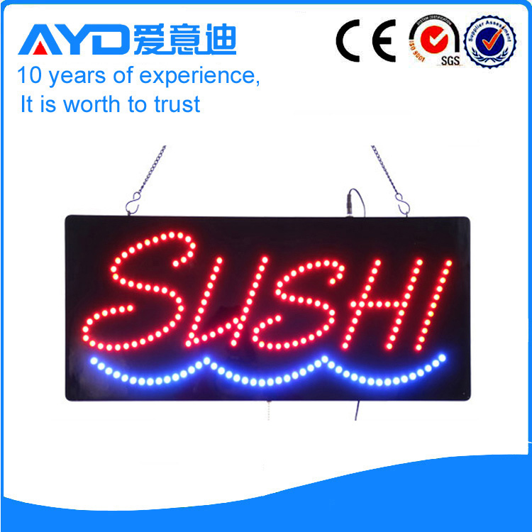 AYD Good Price LED Sushi Sign