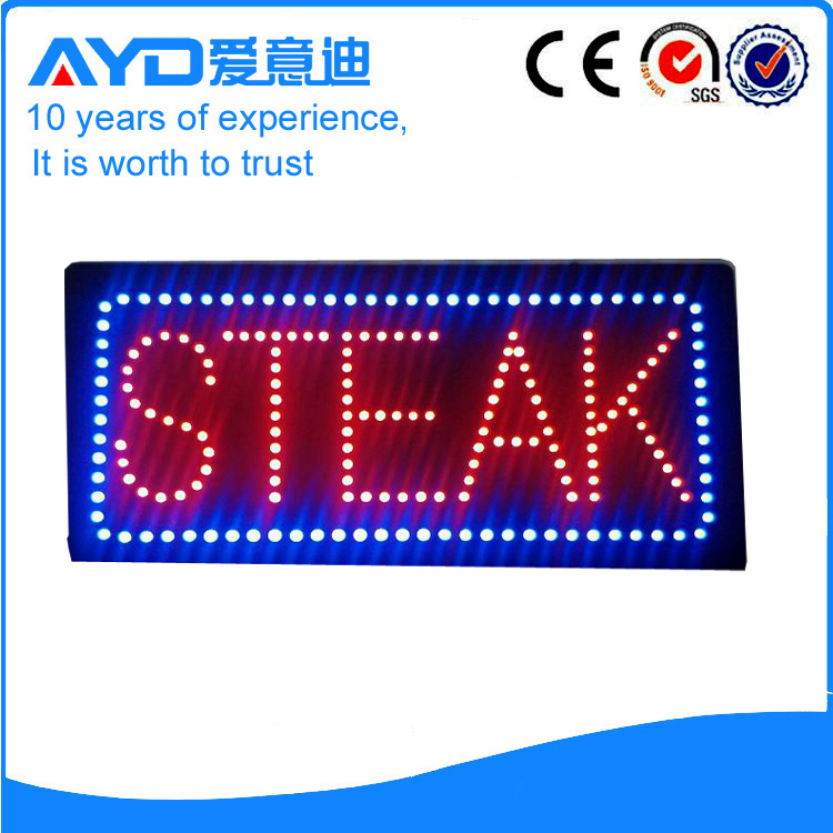 AYD Good Design LED Steak Sign