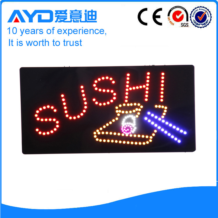 AYD Unique Design LED Sushi Sign