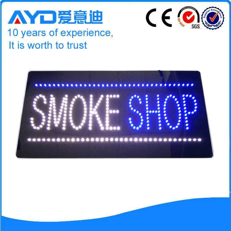 AYD Good Design LED Smoke Shop Sign