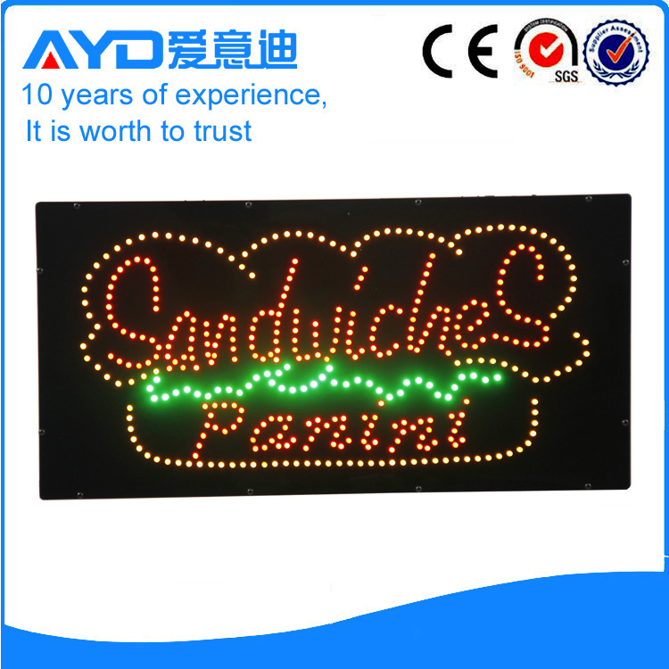 AYD LED Sandwiches Panini Sign