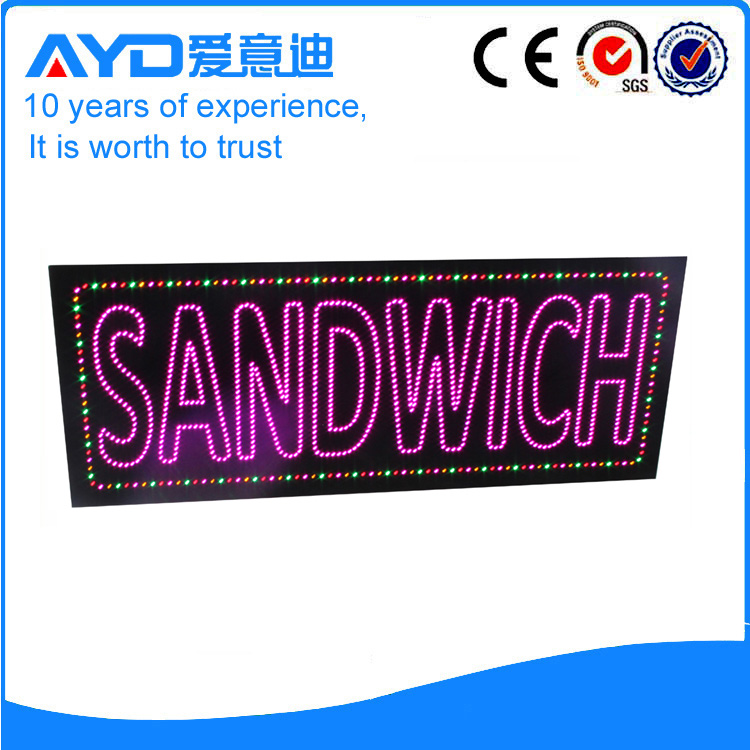 AYD Good Design LED Sandwiches Sign
