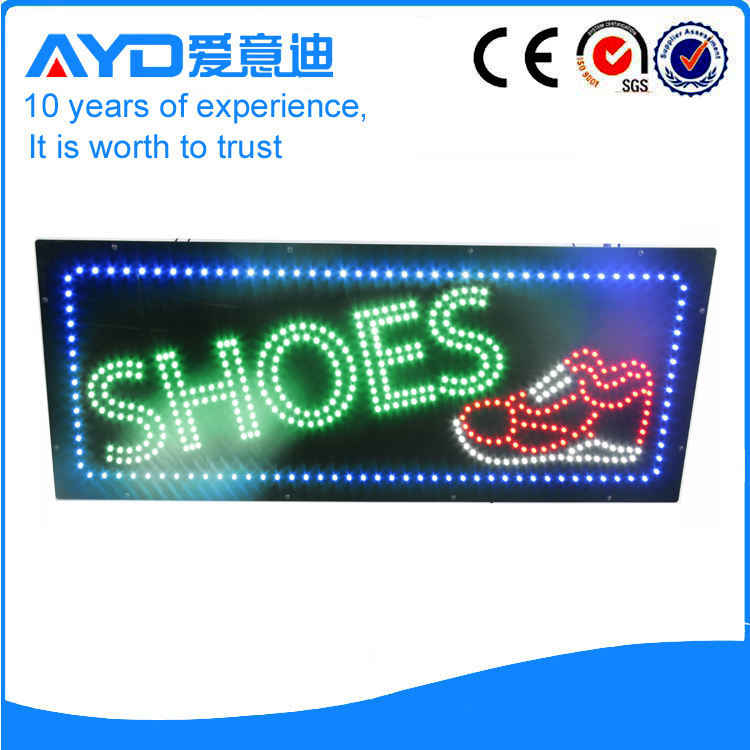AYD Good Design LED Shoes Sign