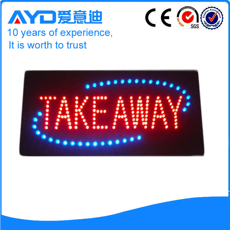 AYD Indoor LED Take Away Sign