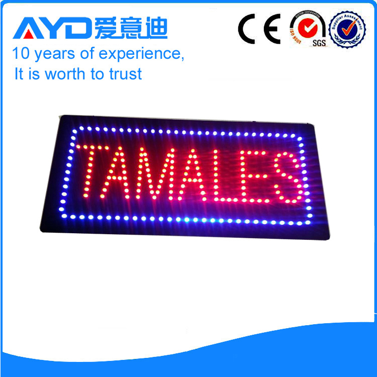 AYD Indoor LED Tamales Sign