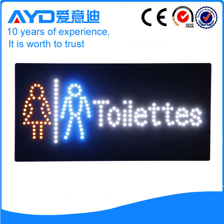 AYD Good Design LED Toilettes Sign
